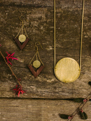 On The Horizon Necklace Gold