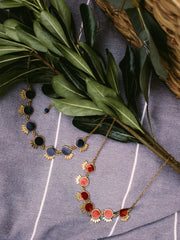 Verona Necklace Navy