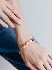 Emily Bangle Coral