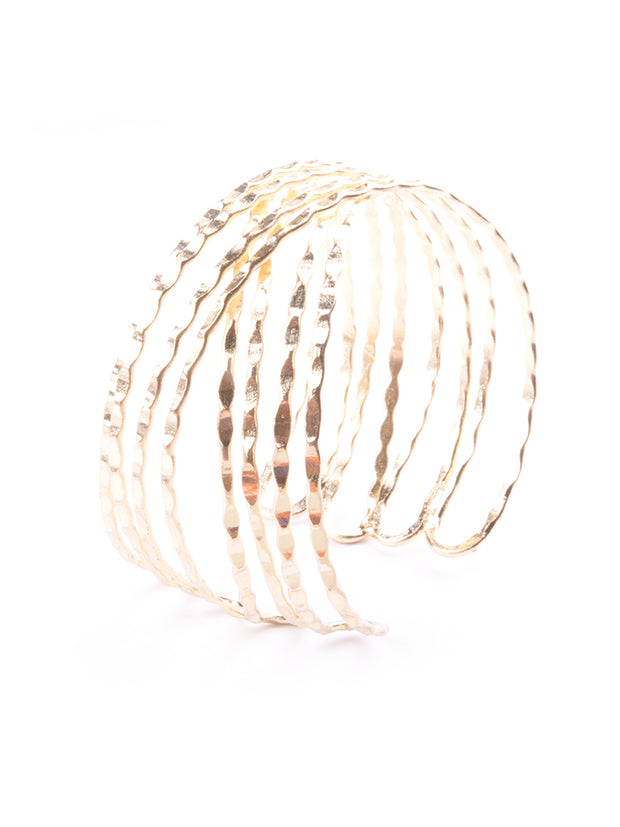 Crosswinds Cuff Gold