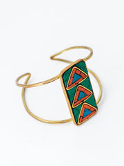 Mosaic Arrow Cuff Multi