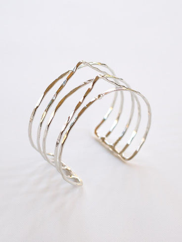 Summit Stack Cuff Silver