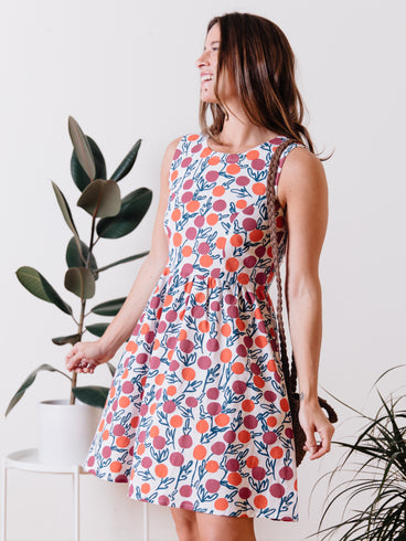 Dilly Dally Dress Berries