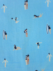Serenade Dress Blue Swimmers
