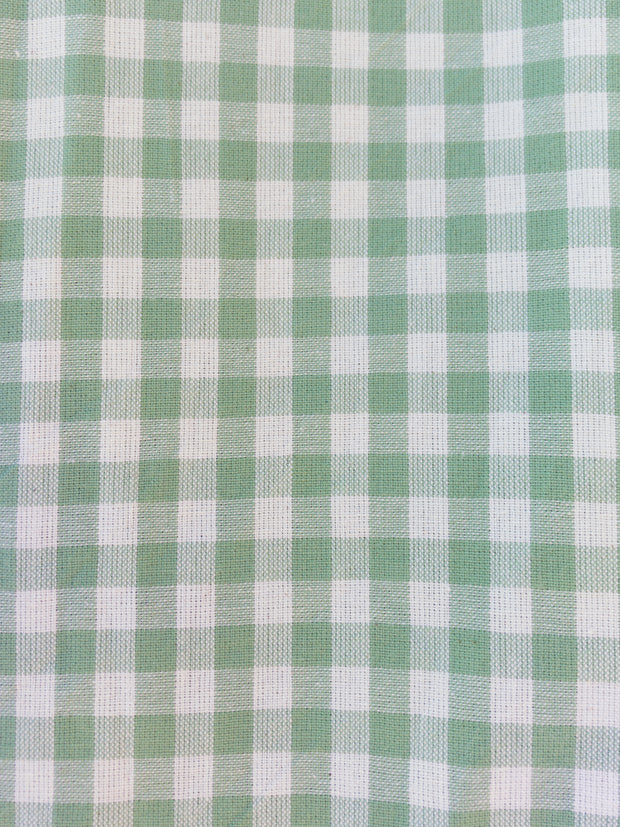 Soleil Dress Sage Gingham