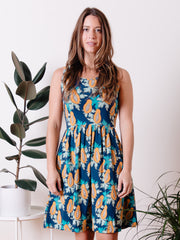 Summer Sonnet Dress Papaya