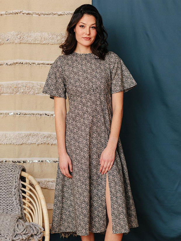 Alisha Dress Slate