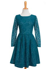 Amazing Lace Dress Teal