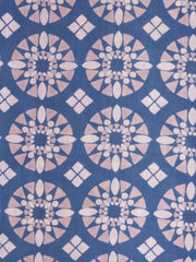 Artsy Traveler Dress Blue Tile