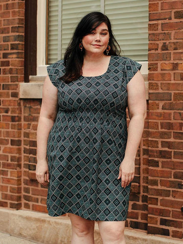 Artsy Traveler Plus Size Dress Quilt