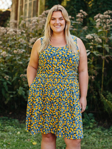 Asheville Plus Size Dress Citrine