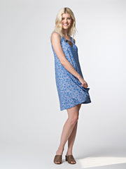 Bellini Dress Blue Lines