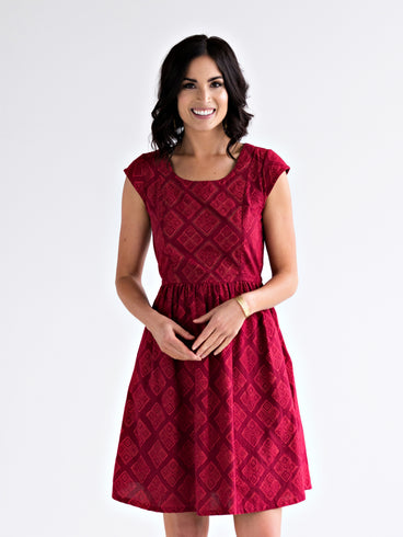 Chilmark Dress Ruby