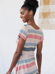Daydreamer Dress Summer Stripe