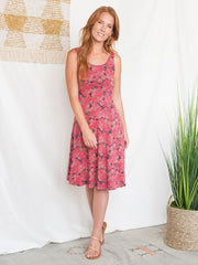 Delilah Dress Rose