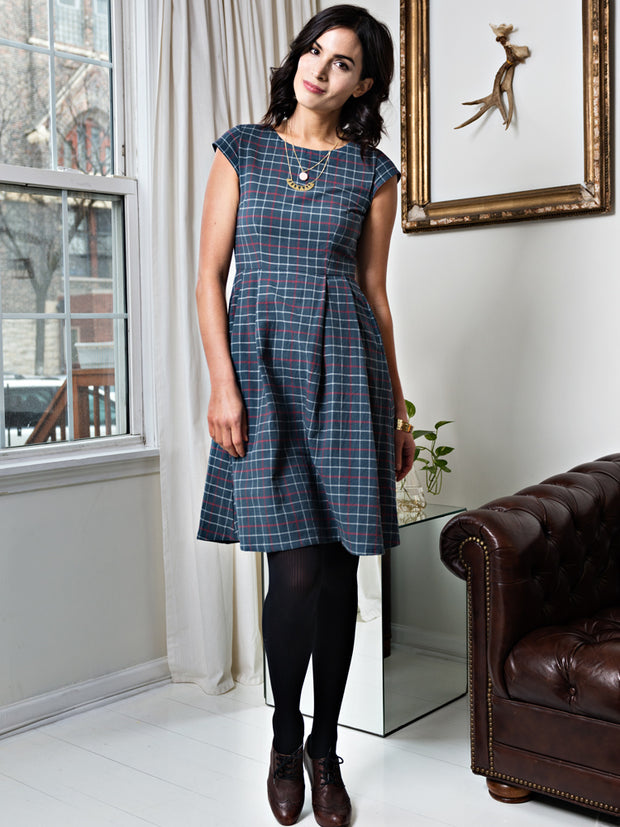 Devonshire Dress Midnight