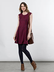 Emma Dress Red Gingham