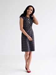 Gallery Dress Dark Grey