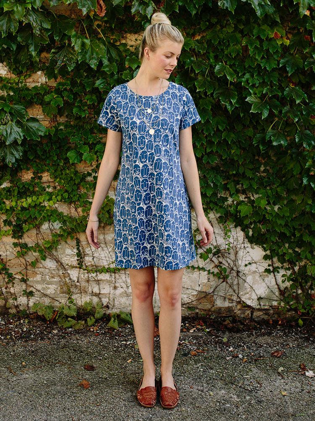 Hudson Shirtdress Faces