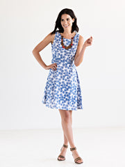 Lazy Daisy Dress Blue