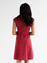 Lovely Lines Dress Apple Red