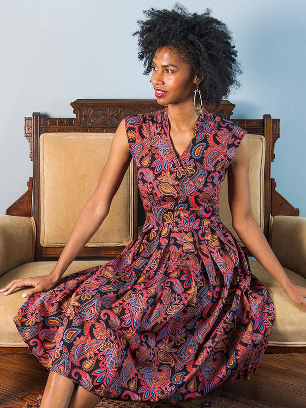 Lucille Dress Paisley