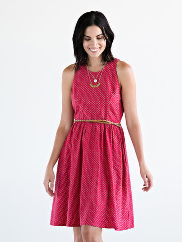 Madrona Dress Red