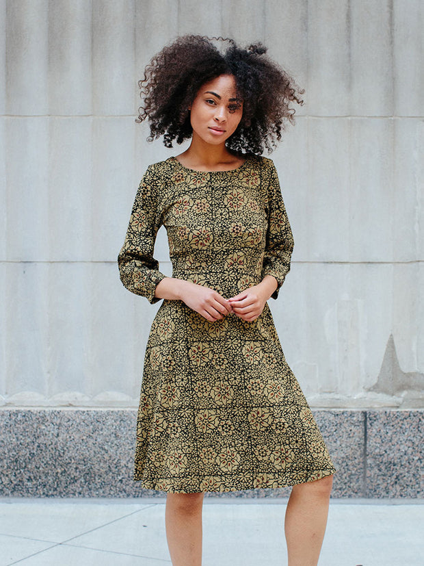 Marseille Long Sleeve Dress