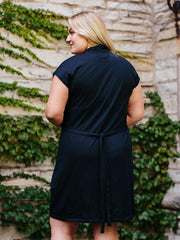 Midtown Plus Size Dress Black