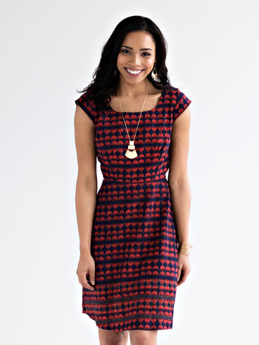 Modern Traditions Dress Poppy