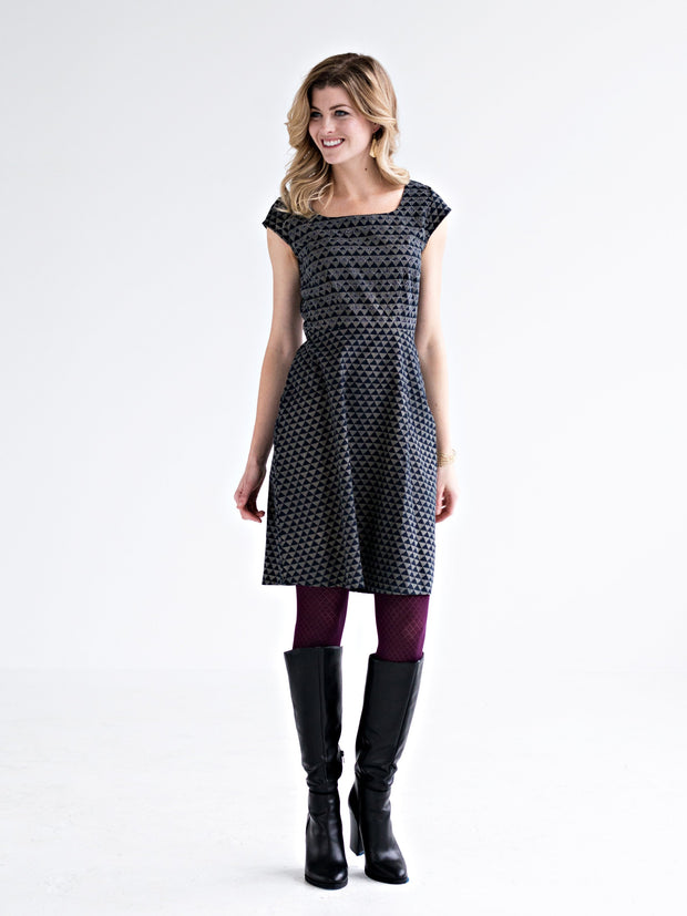 Modern Traditions Dress Slate