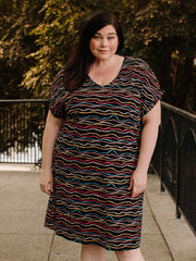 Montrose Plus Size Midi Dress