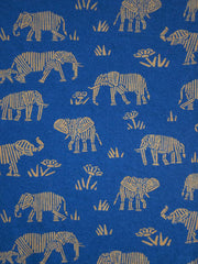 Montrose Tie Dress Elephants