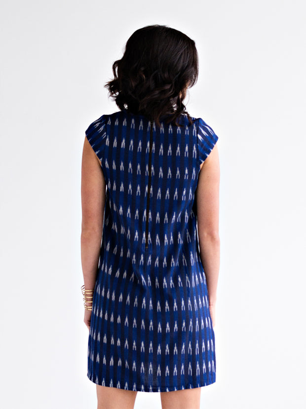 Museo Shift Dress Azure