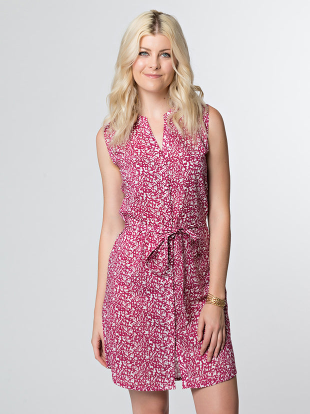 Natalia Shirtdress Folk Animals