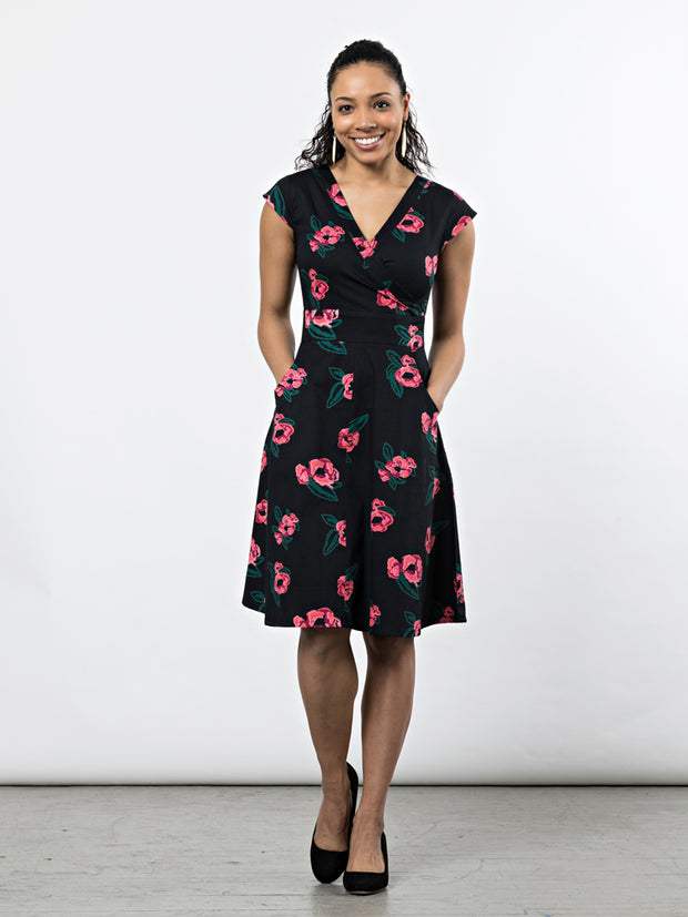 Oberlin Dress Pixel Rose