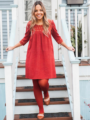 On the Dot Dress Sienna
