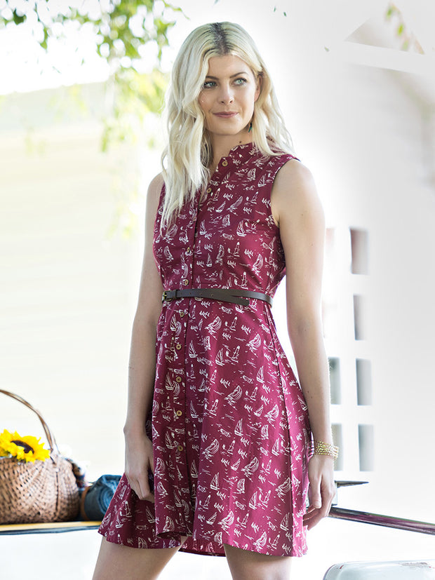 Penelope Dress Red Sails