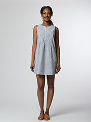 Pintucked Away Dress Hex Star