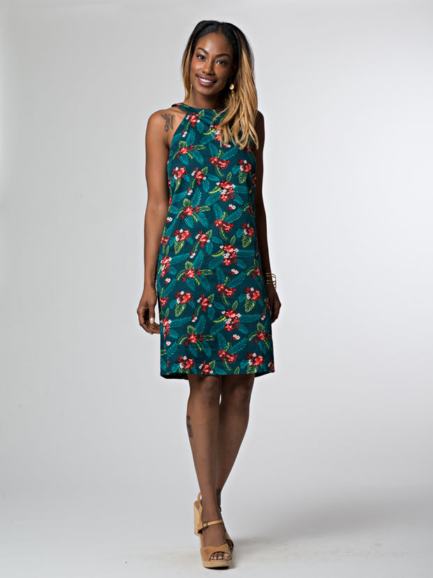 Playa Shift Dress Teal