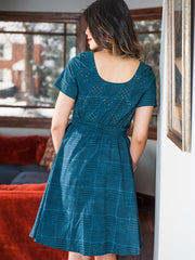 Reversible Stitch Dress Dusk
