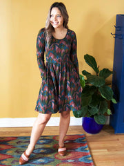 Rosalie Dress Moss