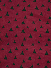 Rosalie Dress Red Triangles