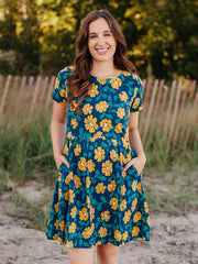 Serenade Dress Sunflower
