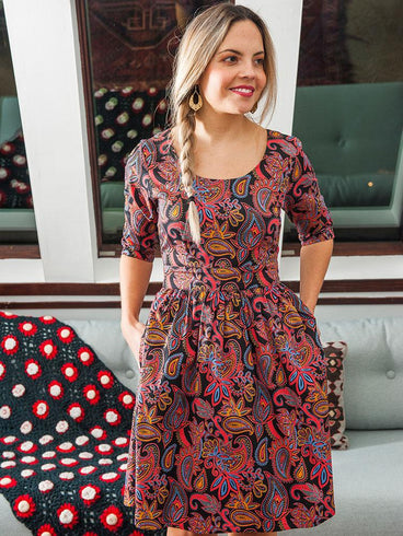 Serephina Dress Paisley
