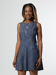 Seychelles Dress Cornflower