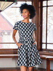Suzette Dress Black