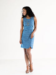 Tea Time Dress Blue