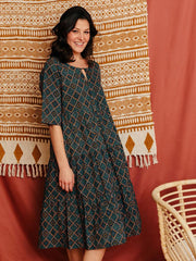 Thais Tiered Dress Tapestry