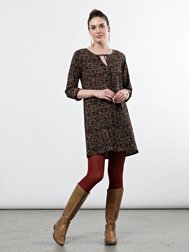 Tuscan Tunic Dress Paisley